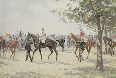 Preparing for the start, Ascot