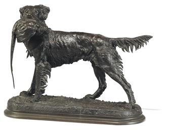 Chien et faison (Dog and pheas