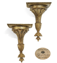 A PAIR OF IRISH GEORGE III GIL