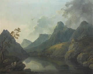 A view of Llanberis, with Dolb