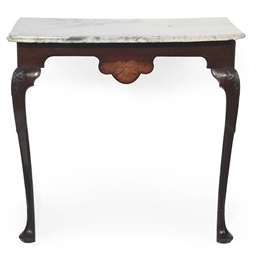 AN IRISH GEORGE II MAHOGANY AN