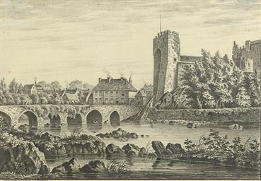 Cahir Castle and bridge, Co. T