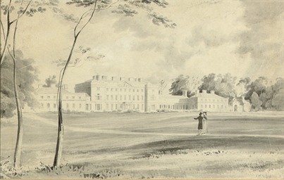 Carton House, Co. Kildare, sea