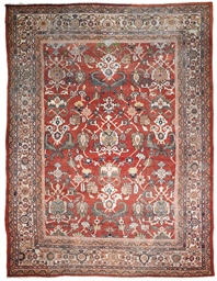 A ZIEGLER-MAHAL CARPET, WEST P