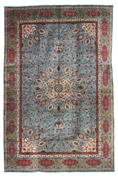 A FINE TABRIZ CARPET OF ARDEBI