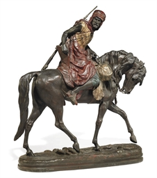 A FRENCH COLD-PAINTED SPELTER