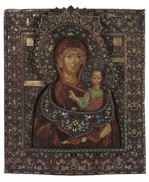 SMOLENSKAYA MOTHER OF GOD WITH