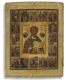 A VITA ICON OF ST. NICHOLAS