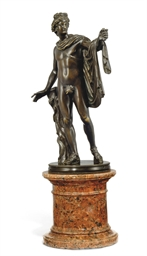 A FRENCH BRONZE MODEL OF THE A