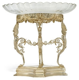 AN ELECTROPLATED CENTREPIECE