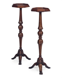 A PAIR OF NORTH EUROPEAN BURR