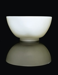 A WHITE JADE BOWL