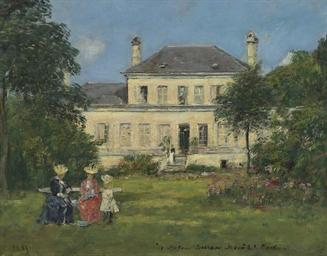 Maison et jardin du peintre Br