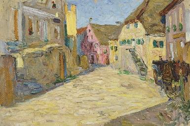 Kallmünz-Vilsgasse I (Rosa Lan