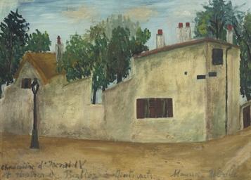 Chaumière d'Henri IV et Maison