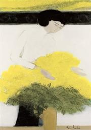 Chantal au bouquet jaune