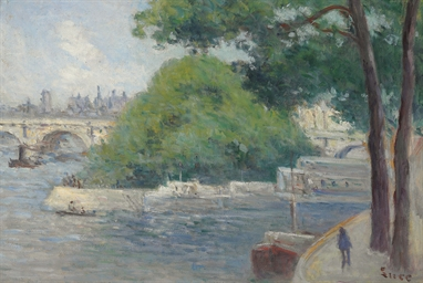 Les bords de la Seine à Paris
