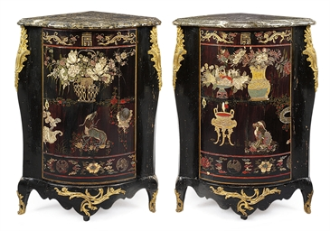 A PAIR OF LOUIS XV ORMOLU-MOUN