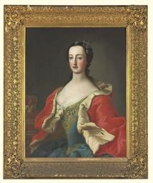 Portrait of a princess, half-l