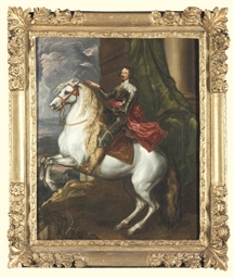 Equestrian portrait of Prince