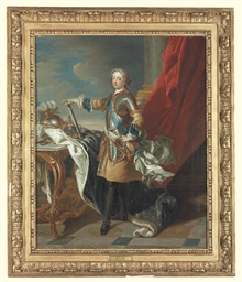 Portrait of King Louis XV, ful
