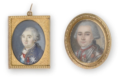 TWO FRENCH PORTRAIT MINIATURES
