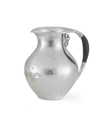 A DANISH SILVER PITCHER