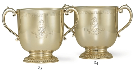 AN AMERICAN GOLD CUP: THE SANT