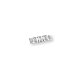 A DIAMOND ETERNITY RING, BY WI