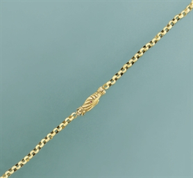 A 19th century long chain neck