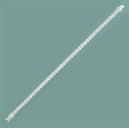A diamond flexible bracelet