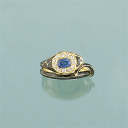 An early 19th century sapphire