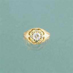 A Victorian gold and diamond s