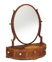 A SCOTTISH GEORGE III MAHOGANY