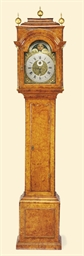 A George II burr-elm striking