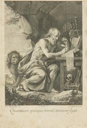 Saint Jérôme par Gérard Edelin