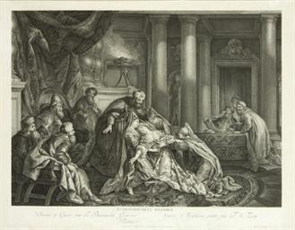 Histoire d'Esther, trois planc
