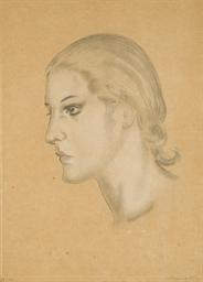 Profil de jeune Femme (Buisson