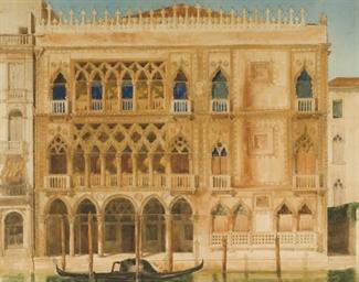 Vue d'un palais vénitien