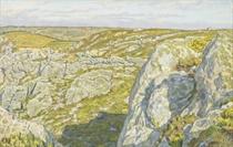 Les falaises de Morgat en Bretagne