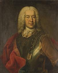 Portrait d'homme en armure