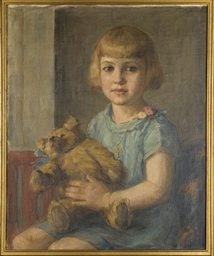 Portrait de jeune fille à la p