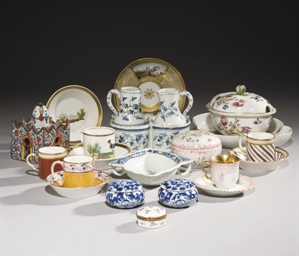 LOT DE PORCELAINE ET FAIENCE D