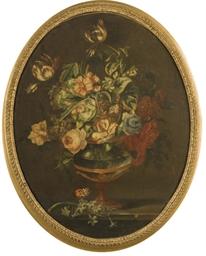 Bouquet de fleurs dans une urn