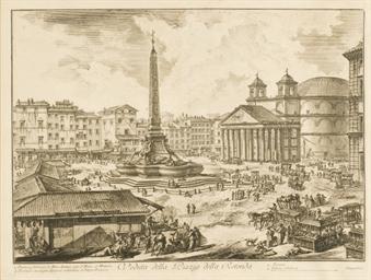 Veduta della Piazza della Reto