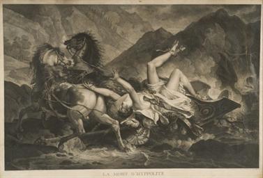 La Mort d'Hyppolite par Darcis