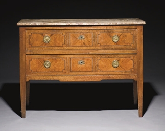 COMMODE D'EPOQUE LOUIS XVI