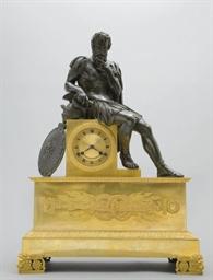 PENDULE VERS 1850