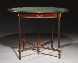 TABLE A JEU VERS 1900 FORMANT