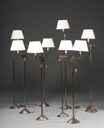 SUITE DE SIX LAMPES DE LECTURE